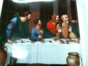 last supper plate